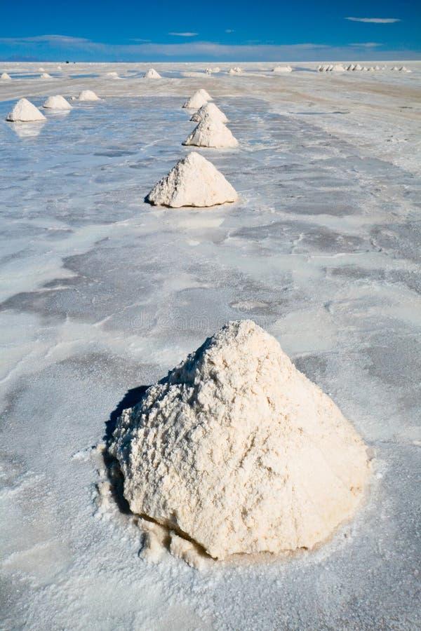 Salar de Uyuni fotografia stock