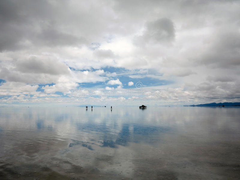 Salar DE Uyuni royalty-vrije stock foto's
