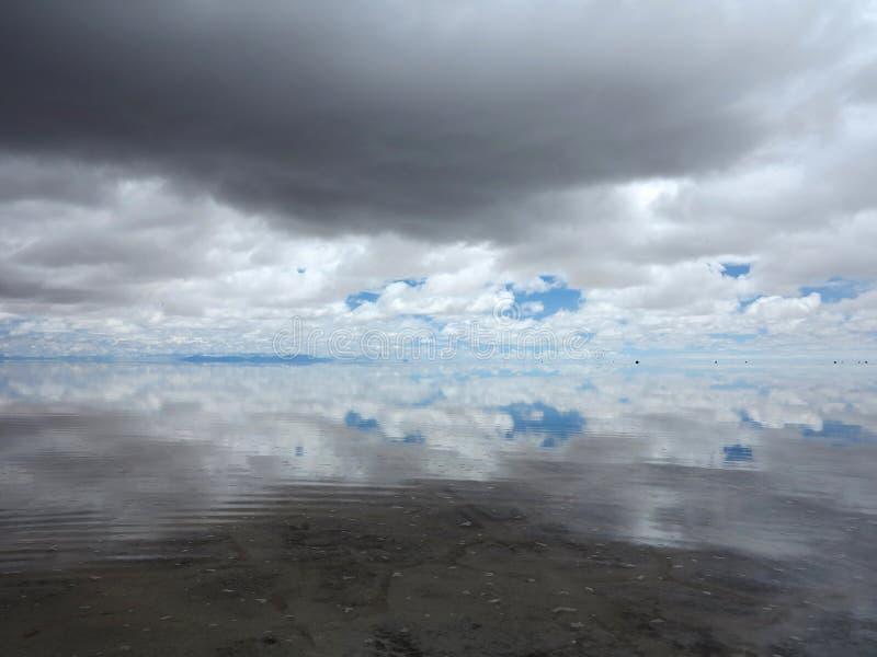 Salar DE Uyuni stock foto