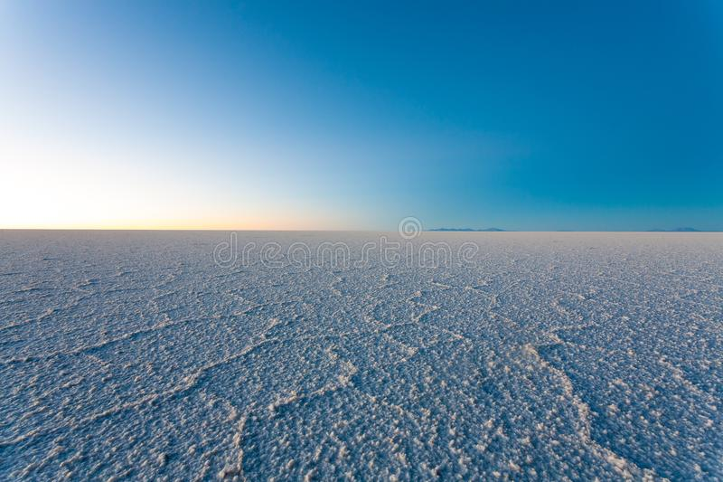 Salar De Uyuni, BOLÍVIA imagem de stock royalty free