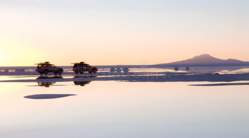 SALAR DE UYUNI, BOLIVIË royalty-vrije stock afbeelding