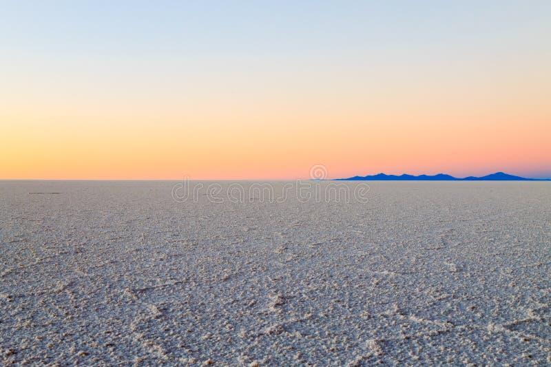 Salar De Uyuni, BOLIVIA imagen de archivo