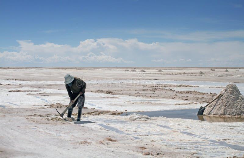 Salar de Uyuni in Bolivia. royalty free stock photo