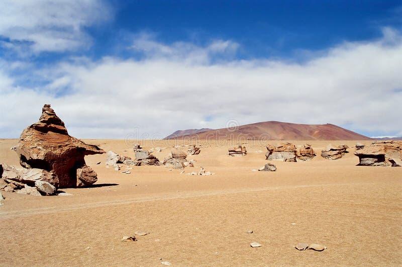 Salar de Uyuni, Bolivia. The high desert Salar de Uyuni, Bolivia royalty free stock photo