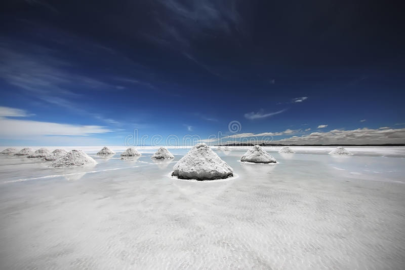 Salar de Uyuni Bolivia royalty-vrije stock fotografie