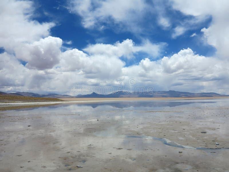 Salar de Uyuni Bolivia image libre de droits