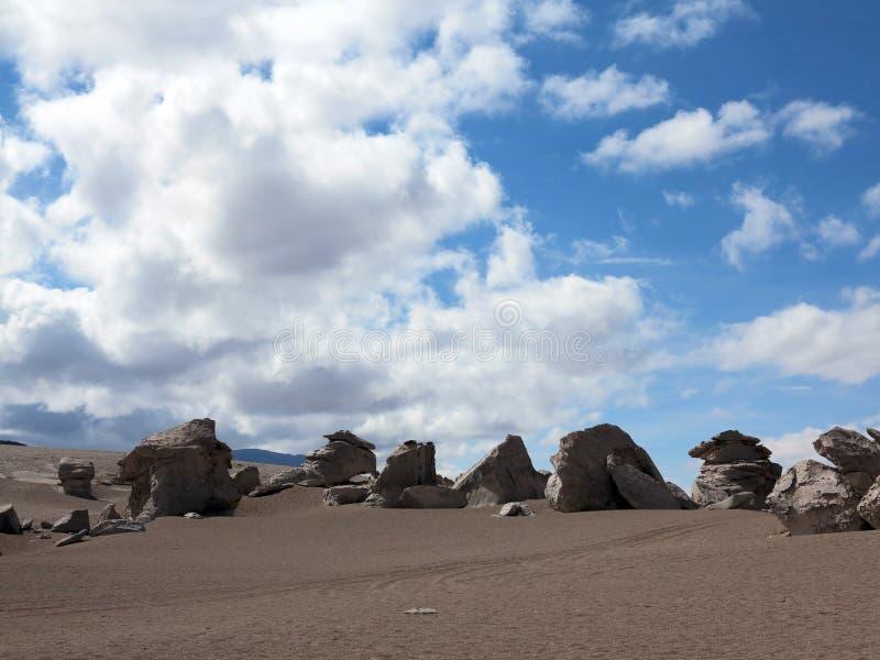 Salar de Uyuni Bolivia royalty-vrije stock foto's