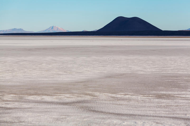 Salar de Uyuni. Bolivia stock photography