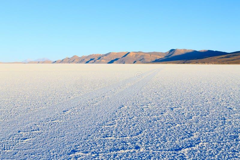 Salar de Uyuni, Bolivia. Largest salt flat in the world. Bolivian landscape stock images