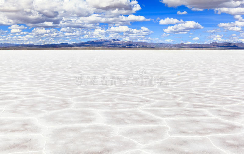 Salar de Uyuni, Bolivia. This photo was taken in Salar de Uyuni, Bolivia.Salar de Uyuni (or Salar de Tunupa) is the world's largest salt flat at 10,582 square royalty free stock photos