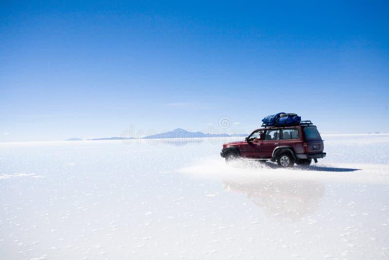 Salar de Uyuni, Bolivie photo libre de droits