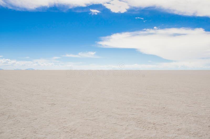 Salar de Uyuni, das größte Salzflachgebiet der Welt, Altiplano, Bolivien, Südamerika stockbild