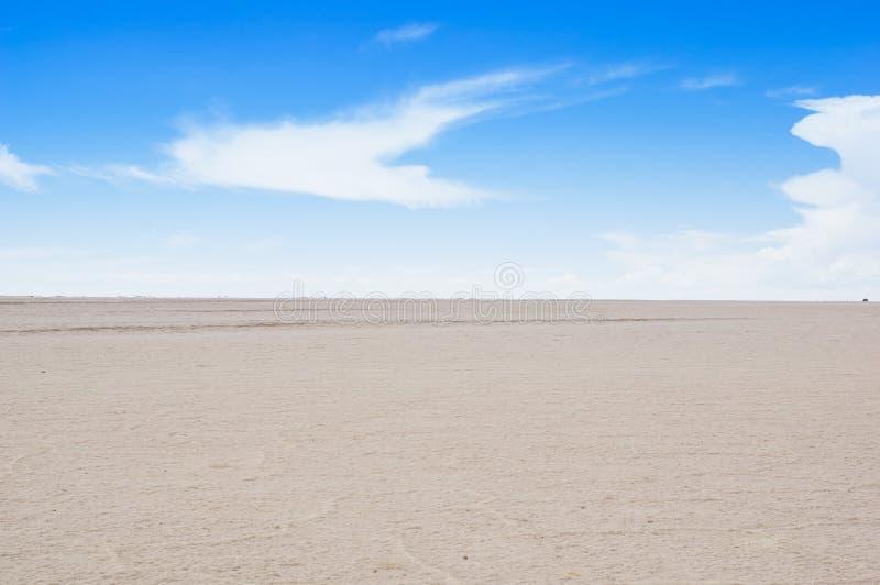 Salar de Uyuni, das größte Salzflachgebiet der Welt, Altiplano, Bolivien, Südamerika lizenzfreie stockfotografie