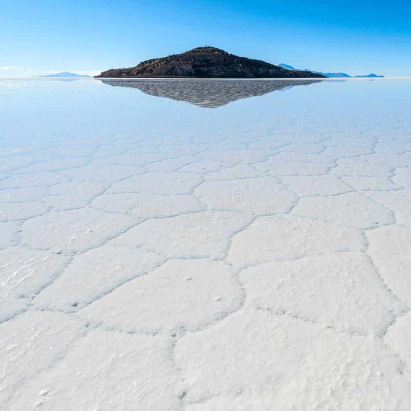 Salar de Uyuni en Bolivia imagen de archivo libre de regalías
