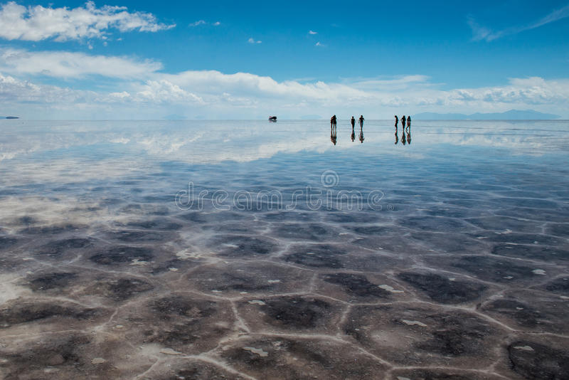 Salar De Uyuni stock photography