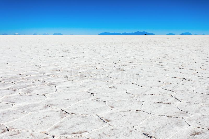 Salar de Uyuni. (Salar de Tunupa) is the worlds largest salt flat near Uyuni, Bolivia royalty free stock image