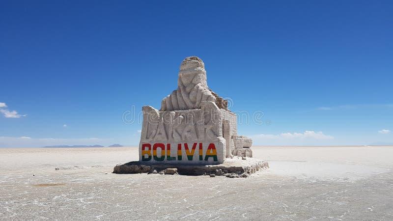 Salar de Uyuni Tour. Bolivia salar de Uyuni Highlands royalty free stock images