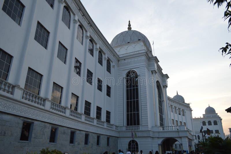 Salar Jung Museum Hyderabad, Indien arkivbild
