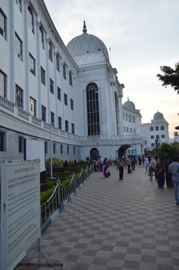 Salar Jung Museum Hyderabad, Indien royaltyfri fotografi