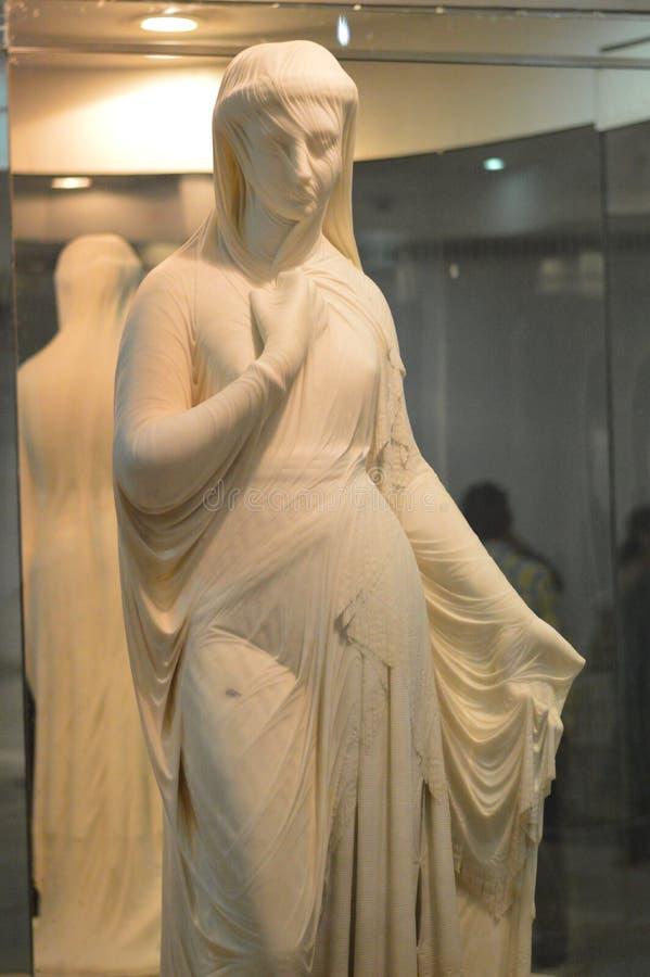 Salar Jung Museum Hyderabad, Indien royaltyfria foton