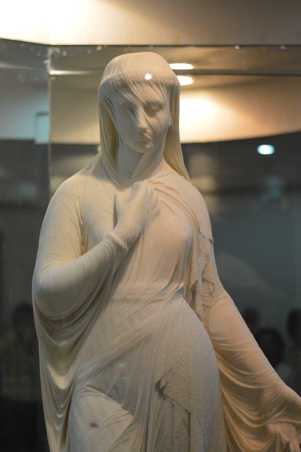 Salar Jung Museum Hyderabad, Indien royaltyfri bild