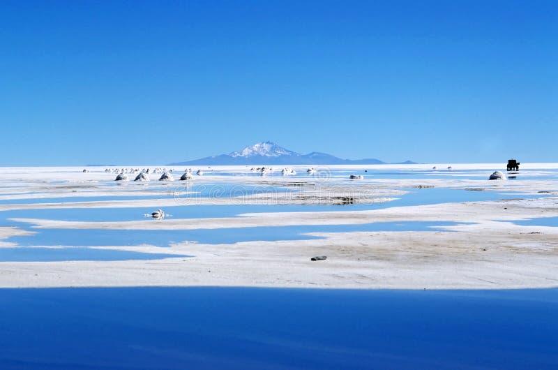 Salar unico de Uyuni fotografie stock