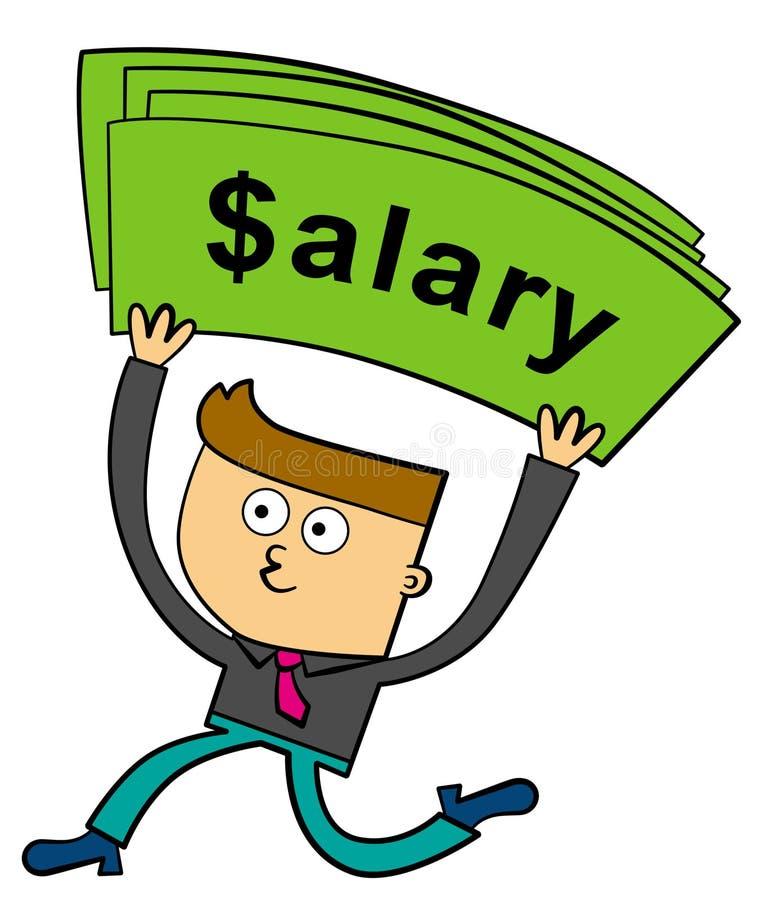 Salaris royalty-vrije illustratie