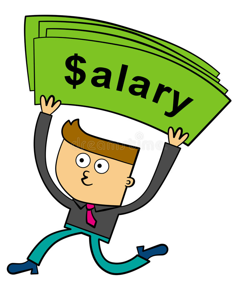Download Salary stock illustration. Illustration of rich, worker - 27023364