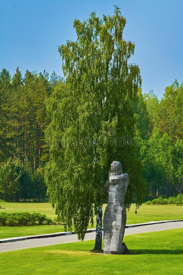 Salaspils Koncentracyjny obóz fotografia stock