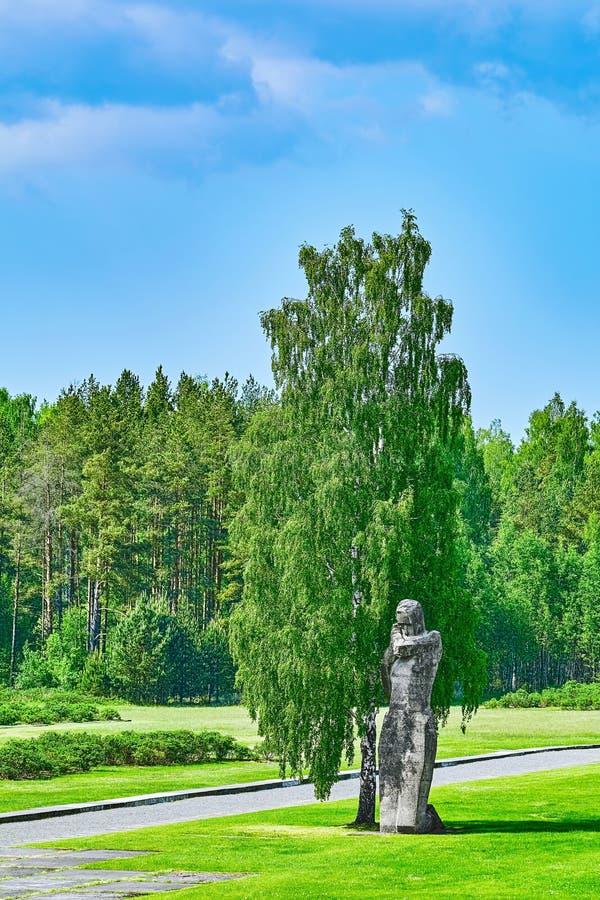 Salaspils Koncentracyjny obóz zdjęcie royalty free