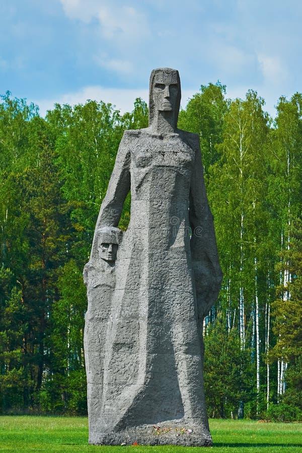 Salaspilsconcentratiekamp stock afbeeldingen