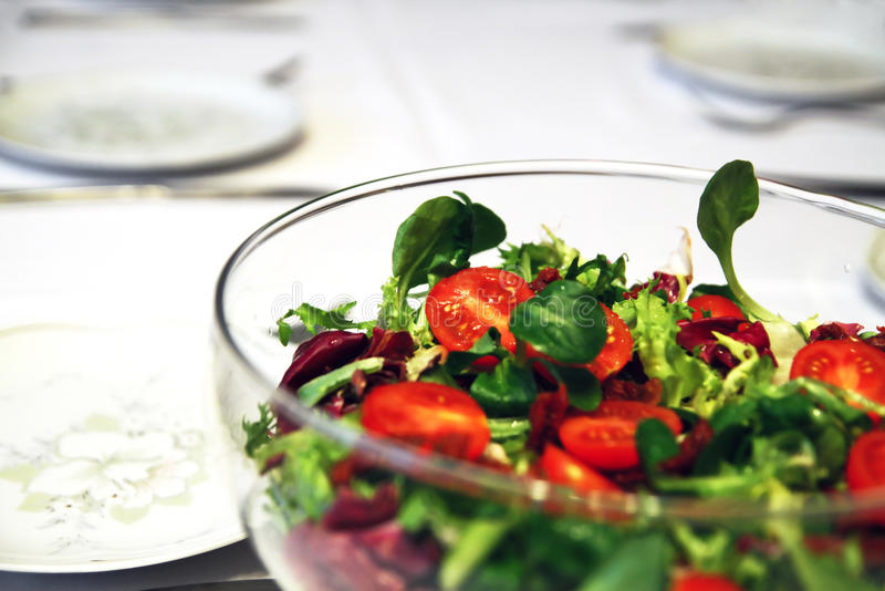 salat蔬菜 图库摄影