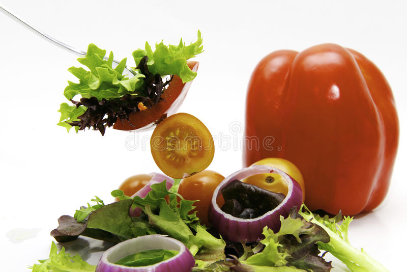 Download Salat stock image. Image of capsicum, mouthwatering, supper - 25773623