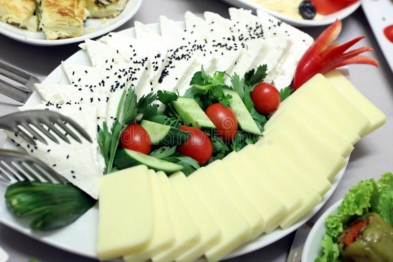 Salat-Buffet lizenzfreies stockfoto