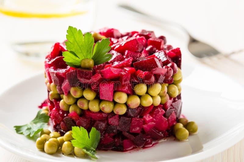 Salat der roten Rübe lizenzfreie stockfotografie