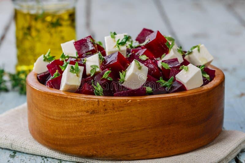 Salat der roten Rübe lizenzfreies stockfoto