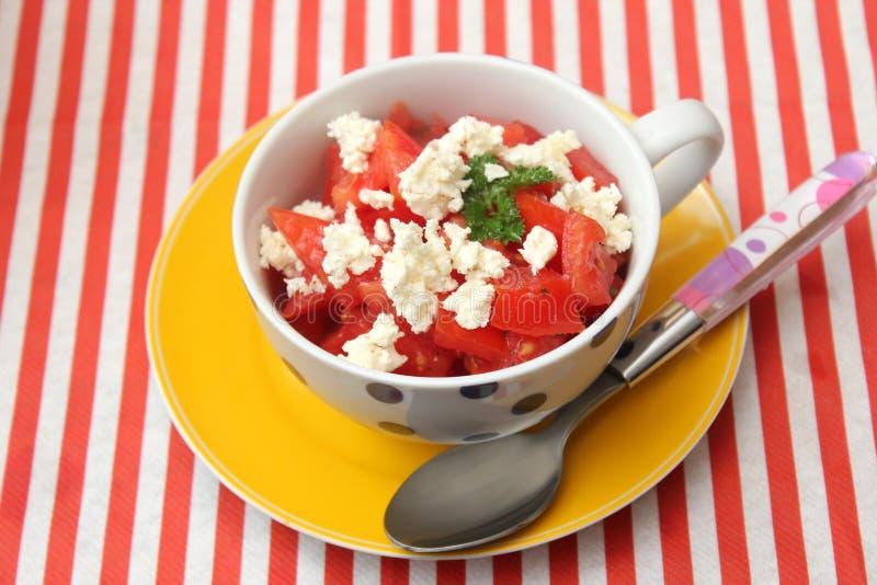 Download Salat der Tomaten stockbild. Bild von tomaten, feta, salat - 90228505