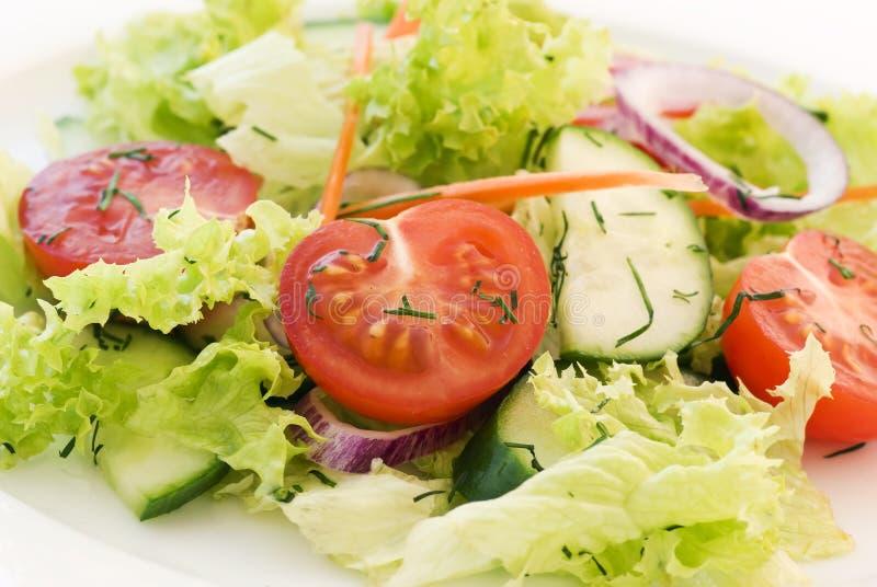Salat mezclado foto de archivo libre de regalías