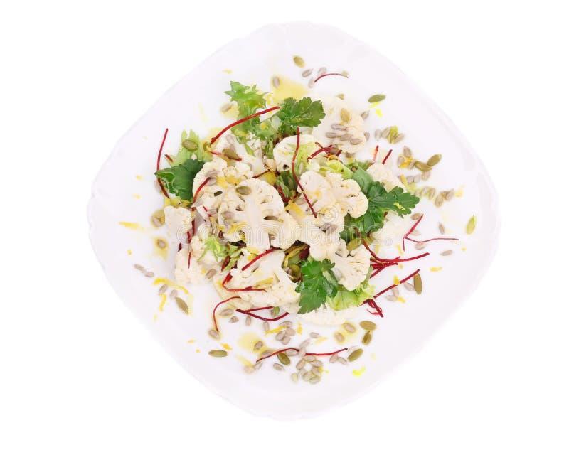 Salat mit Brokkoli stockfoto