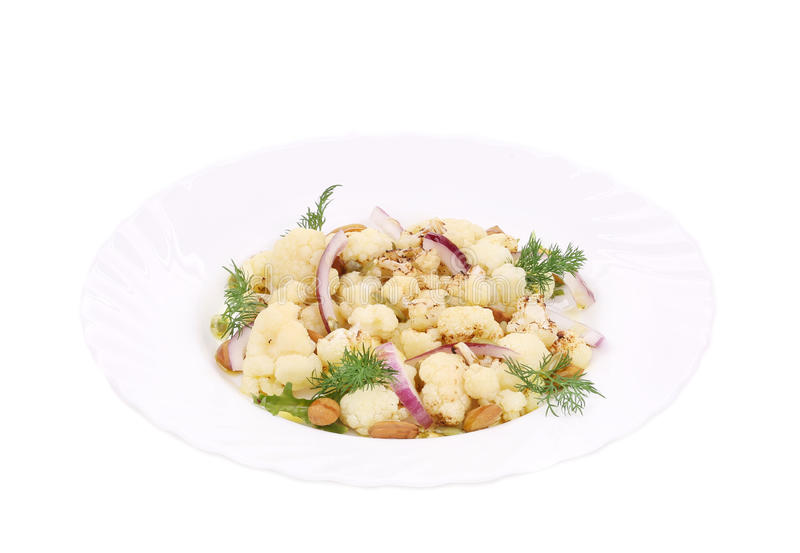 Salat mit Brokkoli lizenzfreies stockbild