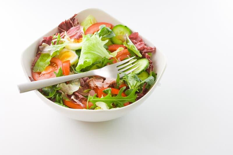 Salat-Schüssel lizenzfreies stockbild