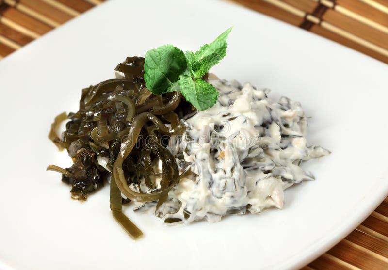 Salat von Laminaria stockfotos