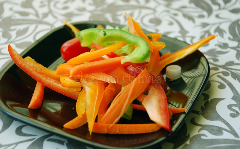 Salatfestlichkeit lizenzfreie stockfotografie