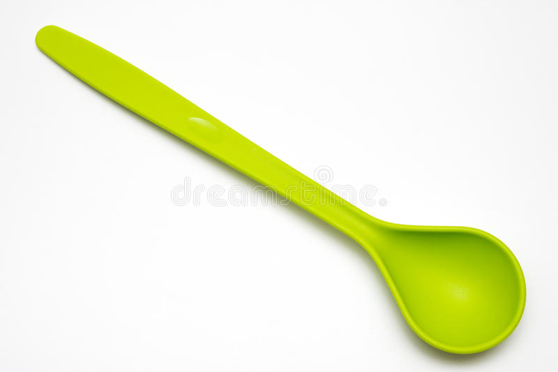 Salatlöffel lizenzfreies stockbild