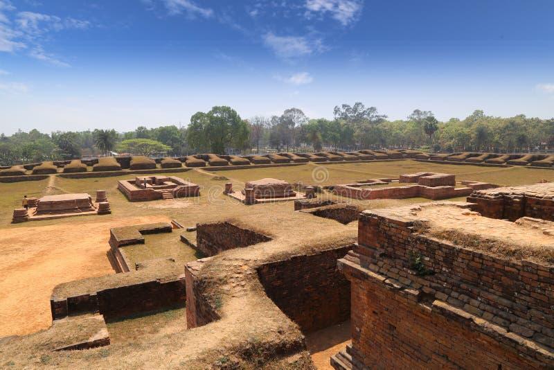 Salban vihara ruina fotografia royalty free