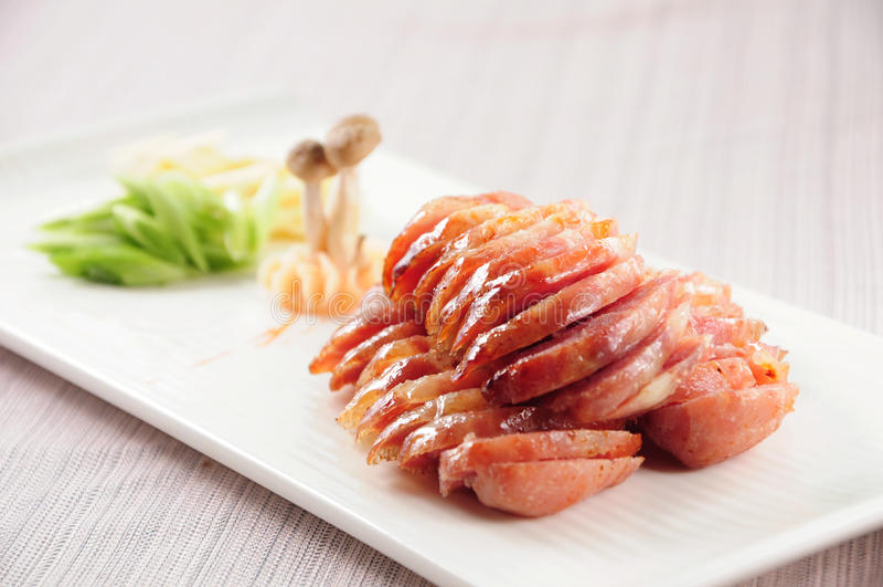 Salchicha de Fried Taiwan imagenes de archivo