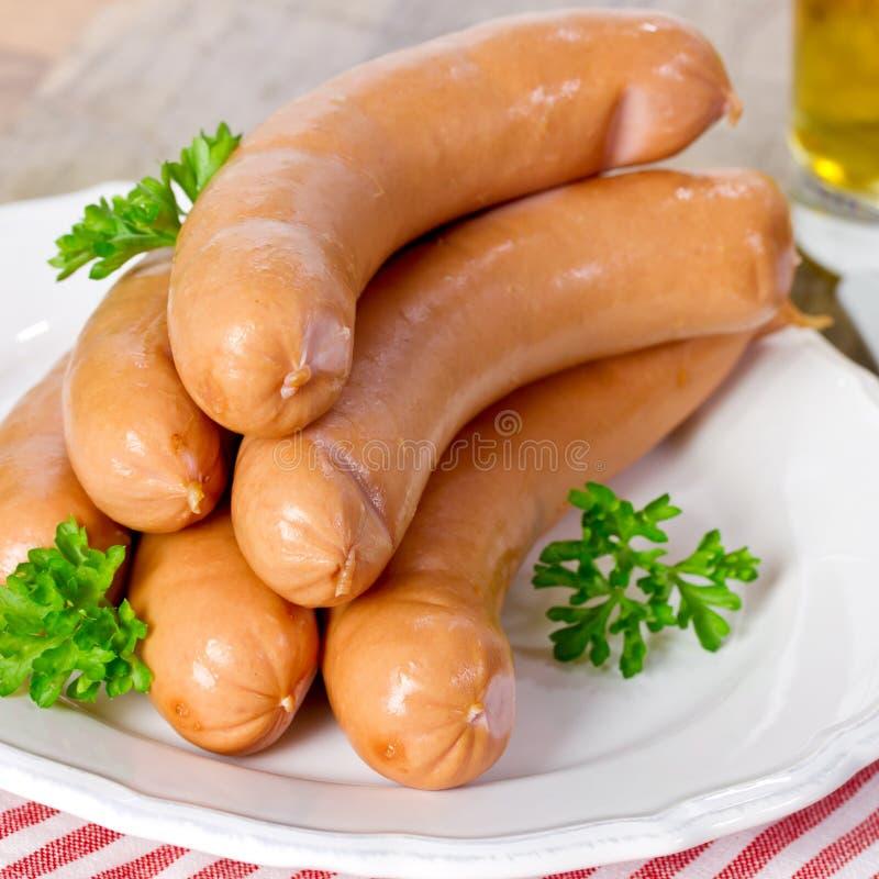 Download Salchichas De La Salchicha De Frankfurt Imagen de archivo - Imagen de cerdo, bocado: 41907339