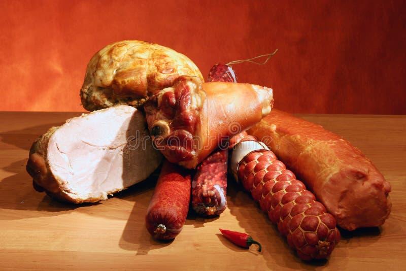 Salchichas y carnes