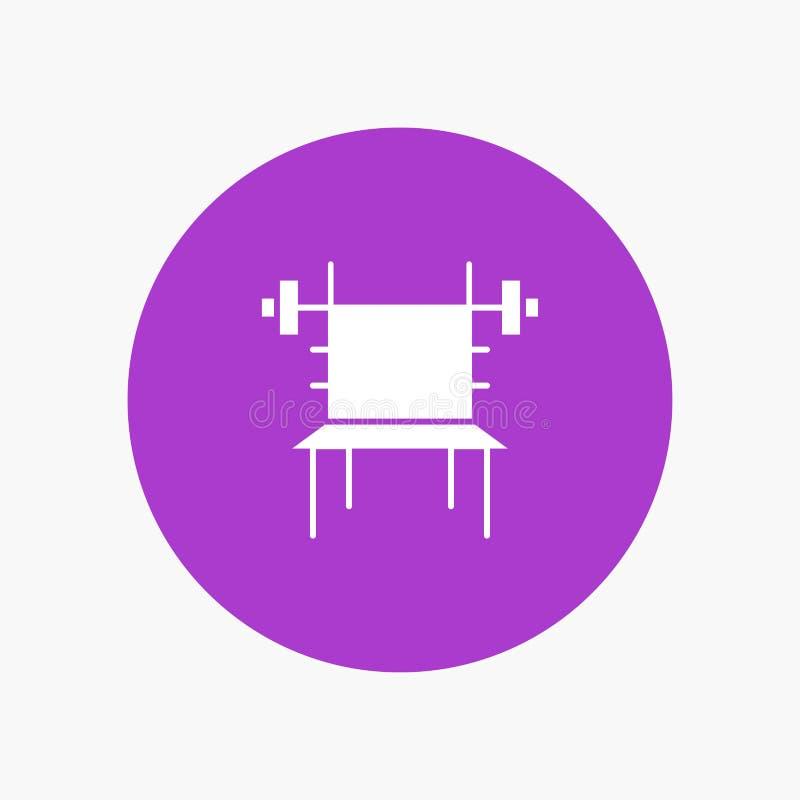 Saldo, Domoor, Geschiktheid, Gymnastiek, Machine vector illustratie
