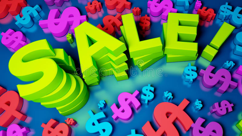 Download Sale stock illustration. Image of payment, part, digit - 16539616